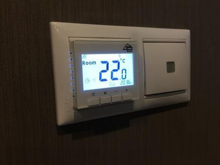 Терморегулятор для инфракрасного теплого пола