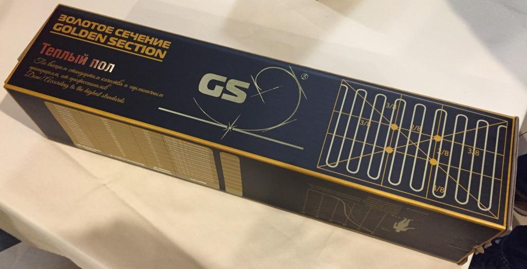 Коробка с нагревательным матом